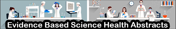 Evidence Based Scientific Research Summaries