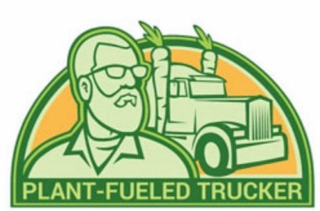 Macho Trucker Takes Plant-Based Diet on the Road