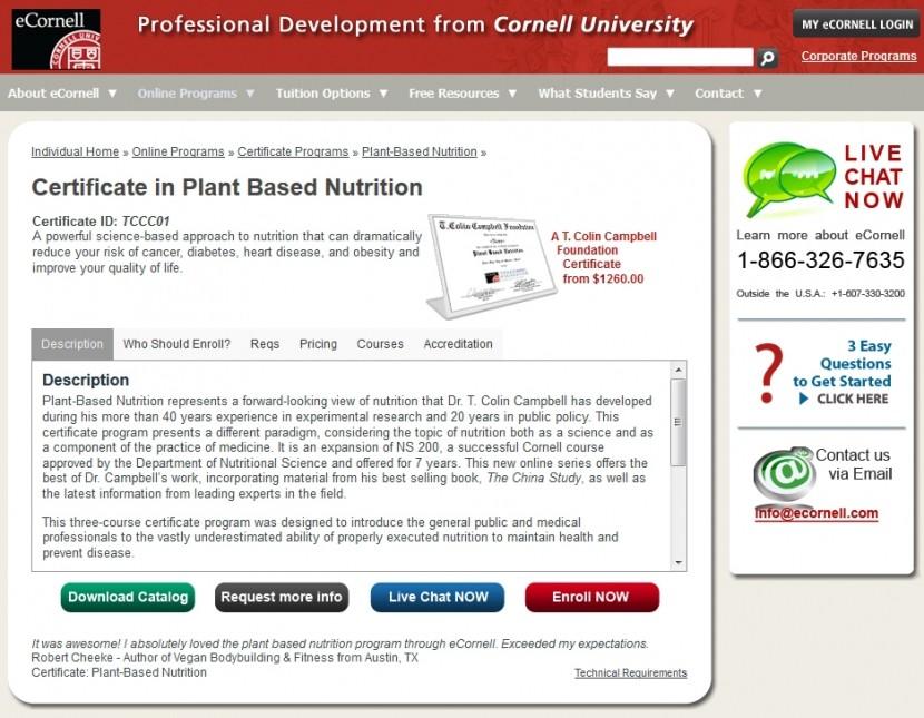 eCornell Certificate Program