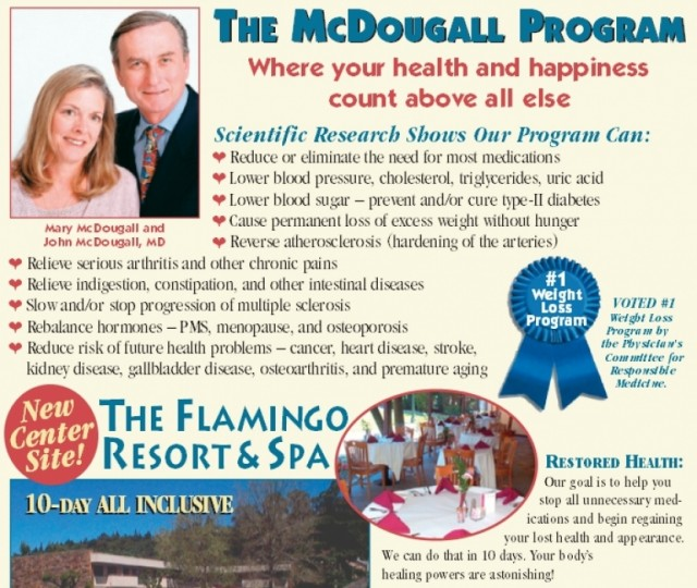 The McDougall 10-day Live-in Program