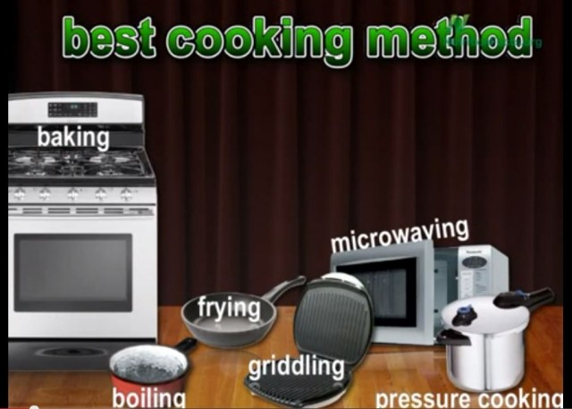 What's the Best Cooking Method?