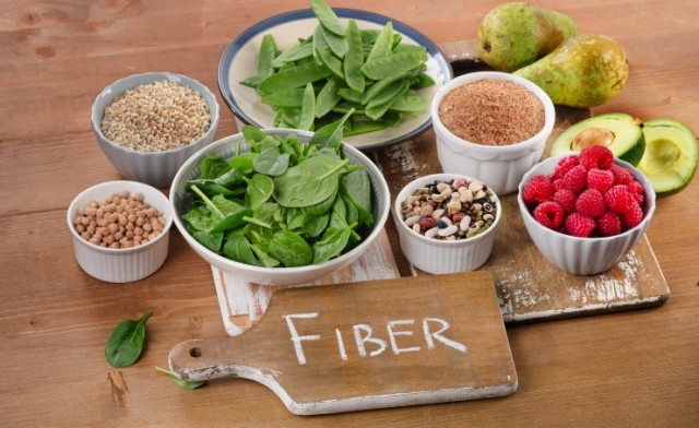 Fiber Rich Foods On Table