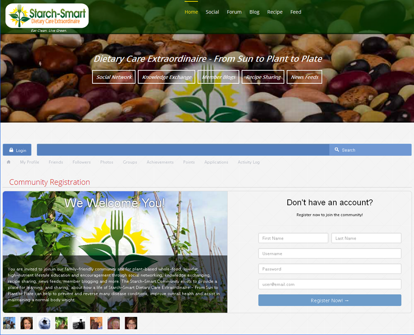 Starch-Smart® Community Site Launched