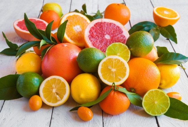 Beautiful Assorted Citrus Fruits