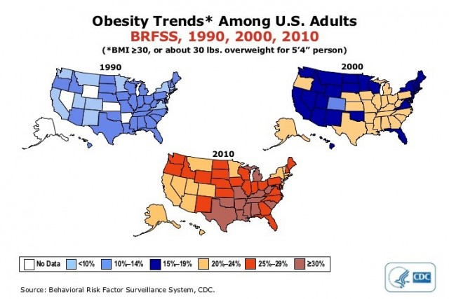 Obesity Trends Animation Placed on Newly Launched DrCarney.com Site