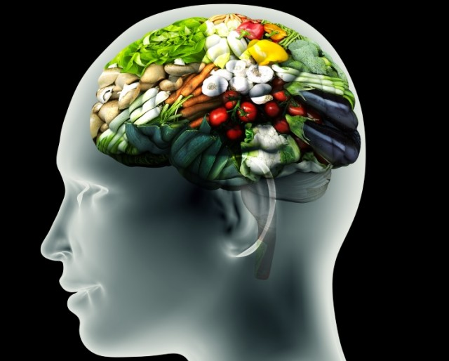 Brains Function Best on Plant Foods