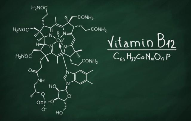 Cobalamin (Vitamin B-12) Structure