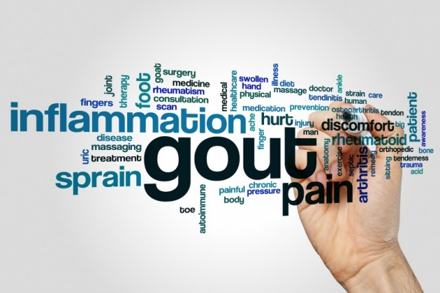 Gout Word Cloud