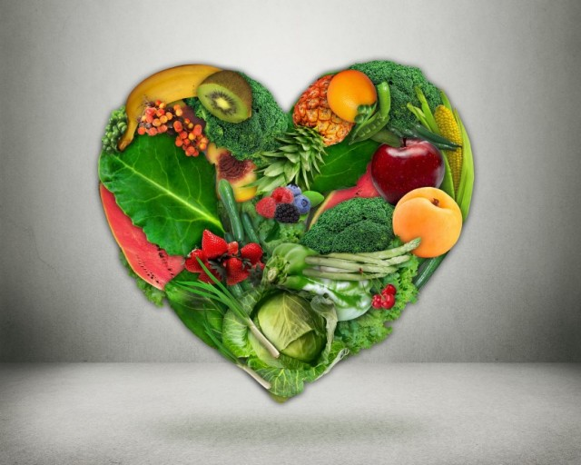 Hearts Nourished with Fruits and Vegetables are Healthier Hearts