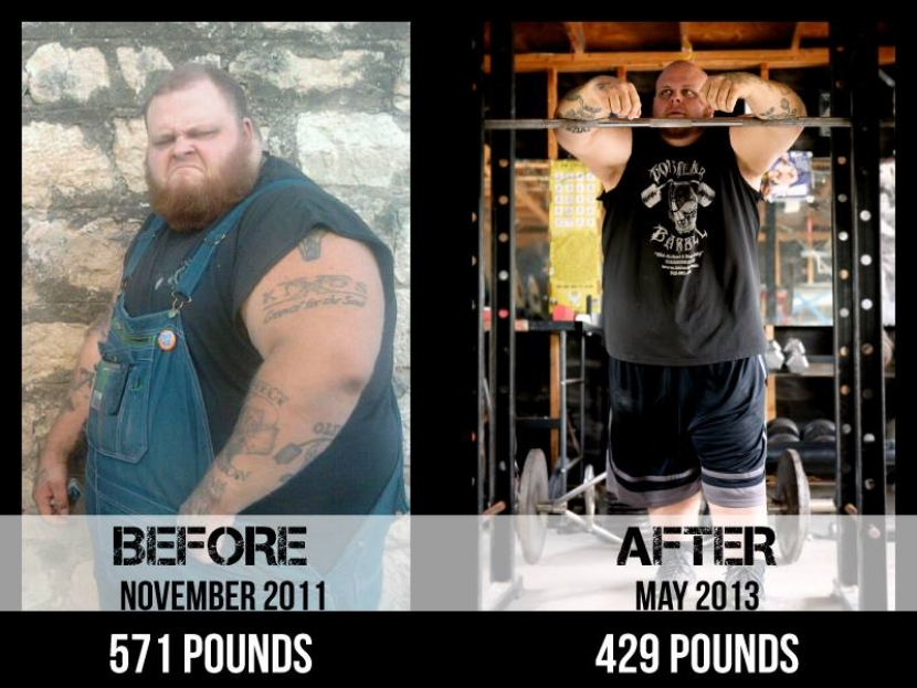 Big Bald Mike Loses 142 lbs In 18 Months