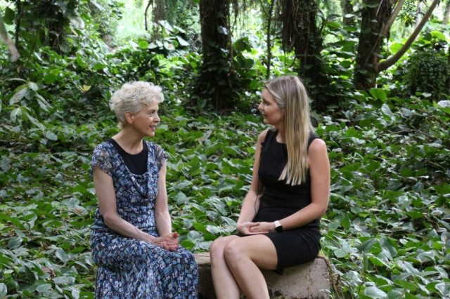 Linda Carney MD interviewed on Maui by Irminne Van Dyken MD